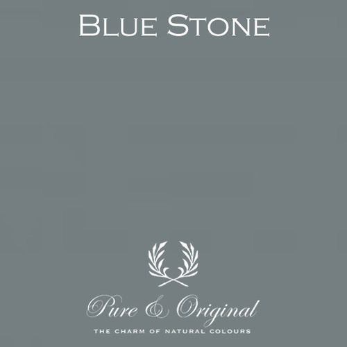 Pure & Original Fresco Lime Paint in Blue Stone (Also Available in Classico Chalk Based Paint and Marrakech Wall Paint)