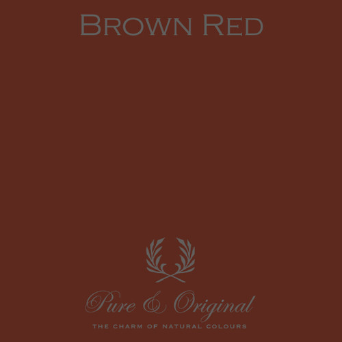 Pure & Original Classico Chalk Based Paint in Brown Red