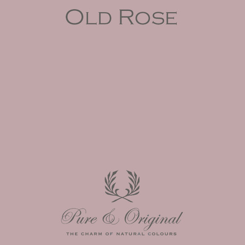Pure & Original Fresco Lime Paint in Old Rose (Also Available in Classico Chalk Based Paint and Marrakech Wall Paint)