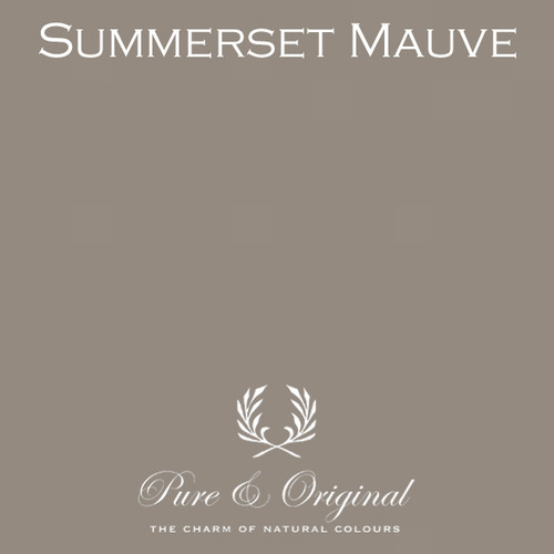 Pure & Original Fresco Lime Paint in Summerset Mauve (Also Available in Classico Chalk Based Paint and Marrakech Wall Paint)