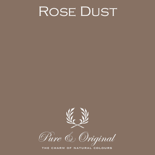 Pure & Original Fresco Lime Paint in Rose Dust (Also Available in Classico Chalk Based Paint and Marrakech Wall Paint)