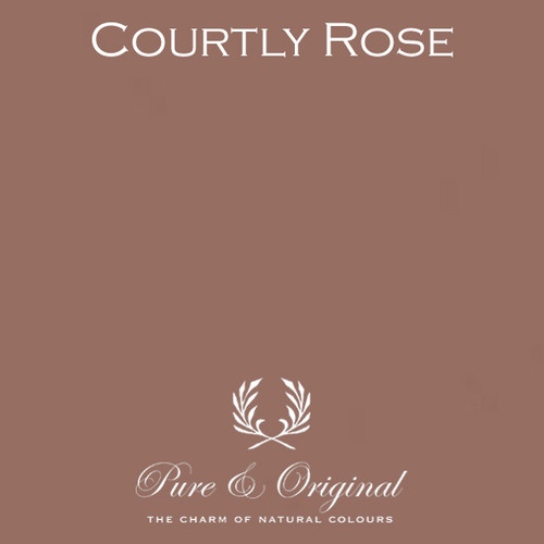 Pure & Original Fresco Lime Paint in Courtly Rose (Also Available in Classico Chalk Based Paint and Marrakech Wall Paint)