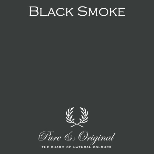 Pure & Original Marrakech Wall Paint in Black Smoke (Also available in Classico Chalk Based Paint or Fresco Lime Paint)