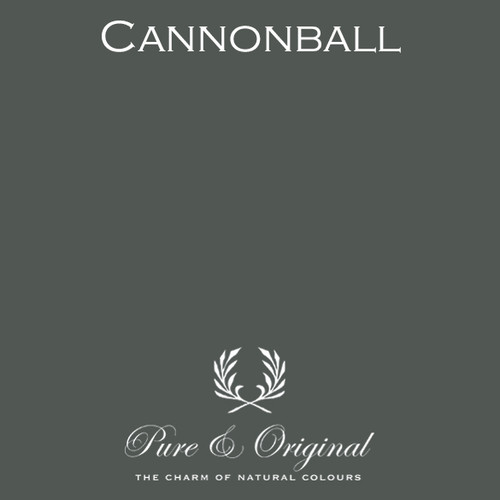 Pure & Original Marrakech Wall Paint in Cannonball (Also available in Classico Chalk Based Paint or Fresco Lime Paint)