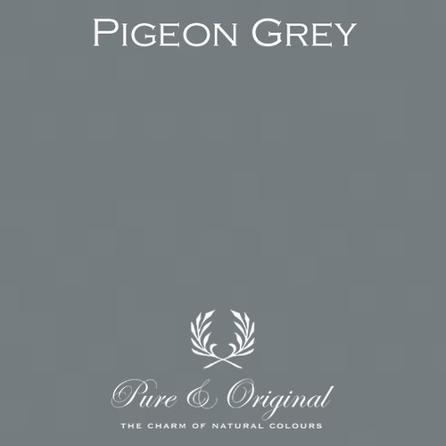 Pure & Original Marrakech Wall Paint in Pigeon Grey (Also available in Classico Chalk Based Paint or Fresco Lime Paint)