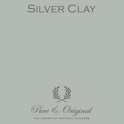 Pure & Original Fresco Lime Paint in Silver Clay (Also Available in Classico Chalk Based Paint and Marrakech Wall Paint)