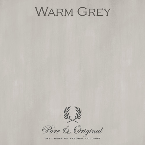 Pure & Original Fresco Lime Paint in Warm Grey (Also Available in Classico Chalk Based Paint and Marrakech Wall Paint)