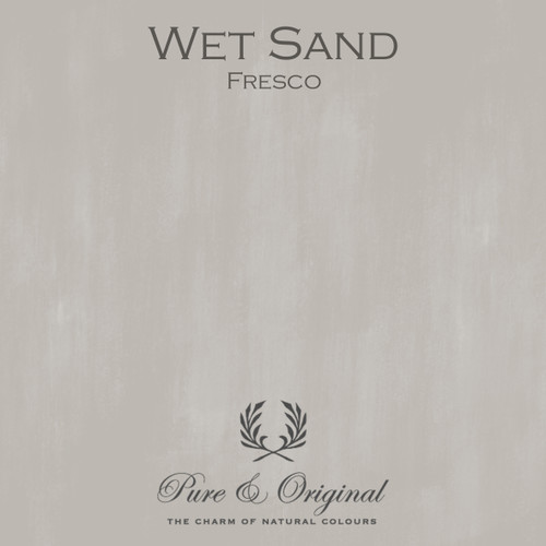 Pure & Original Fresco Lime Paint in Wet Sand (Also Available in Classico Chalk Based Paint and Marrakech Wall Paint)