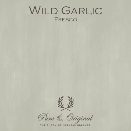 Pure & Original Fresco Lime Paint in Wild Garlic (Also available in Classico Chalk Based Paint or Marrakech Wall Paint)