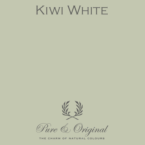 Pure & Original Marrakech Wall Paint in Kiwi White (Also available in Classico Chalk Based Paint or Fresco Lime Paint)