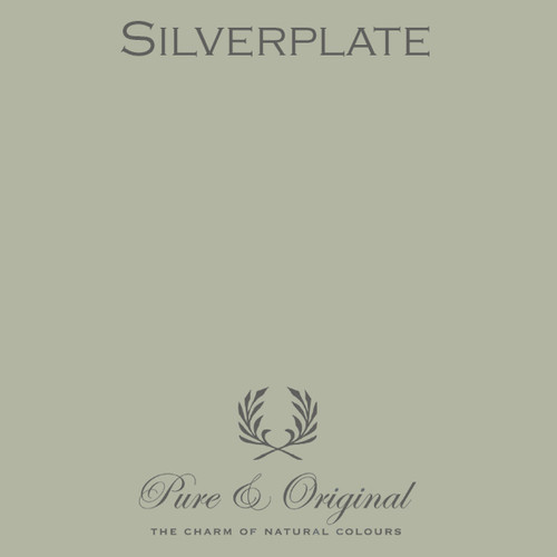 Pure & Original Marrakech Wall Paint in Silverplate (Also available in Classico Chalk Based Paint or Fresco Lime Paint)