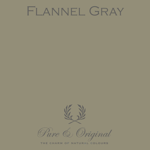 Pure & Original Marrakech Wall Paint in Flannel Gray (Also available in Classico Chalk Based Paint or Fresco Lime Paint)