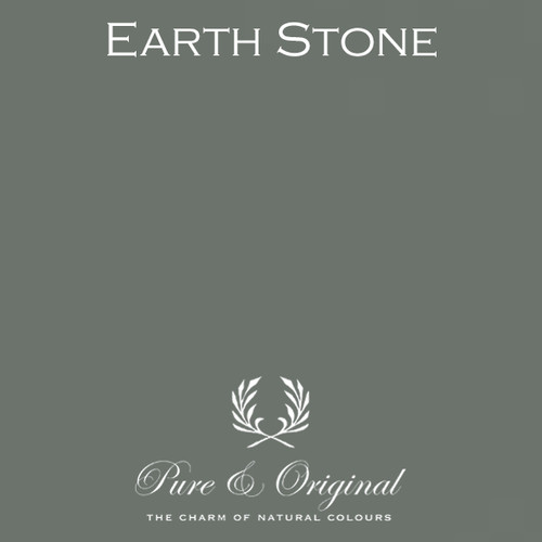 Pure & Original Classico Chalk Based Paint in Earth Stone (Also available in Fresco Lime Paint or Marrakech Wall Paint)