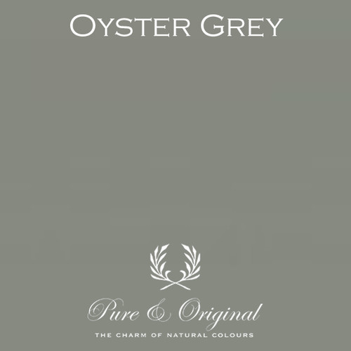 Pure & Original Classico Chalk Based Paint in Oyster Grey (Also available in Fresco Lime Paint or Marrakech Wall Paint)
