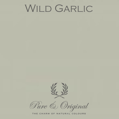 Pure & Original Classico Chalk Based Paint in Wild Garlic (Also available in Fresco Lime Paint or Marrakech Wall Paint)
