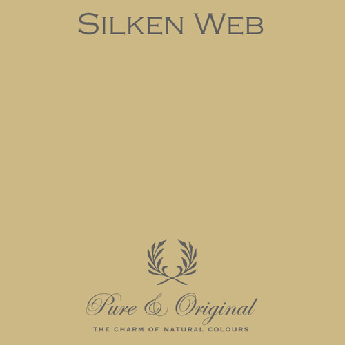 Pure & Original Fresco Lime Paint in Silken Web (Also Available in Classico Chalk Based Paint and Marrakech Wall Paint)