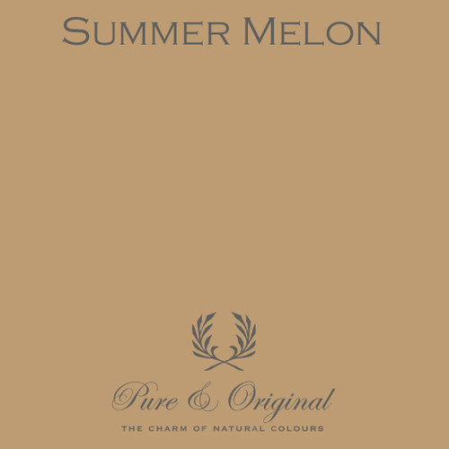 Pure & Original Fresco Lime Paint in Summer Melon (Also Available in Classico Chalk Based Paint and Marrakech Wall Paint)