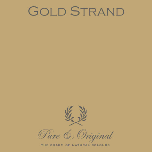 Pure & Original Classico Chalk Based Paint in Gold Strand (Also available in Fresco Lime Paint or Marrakech Wall Paint)