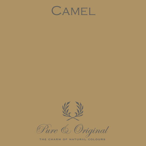 Pure & Original Fresco Lime Paint in Camel (Also Available in Classico Chalk Based Paint and Marrakech Wall Paint)