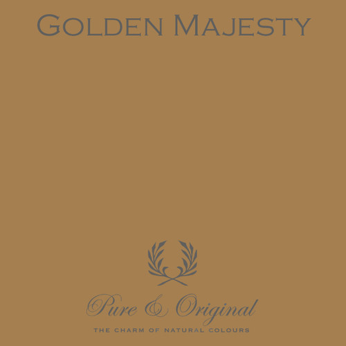 Pure & Original Marrakech Wall Paint in Golden Majesty (Also available in Classico Chalk Based Paint or Fresco Lime Paint)