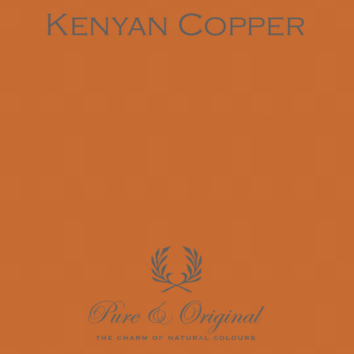 Pure & Original Marrakech Wall Paint in Kenyan Copper (Also available in Classico Chalk Based Paint or Fresco Lime Paint)