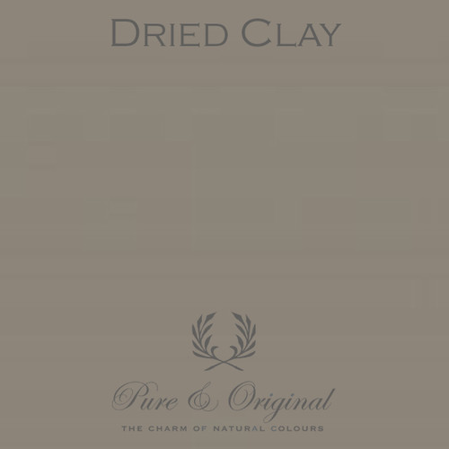 Pure & Original Classico Chalk Based Paint in Dried Clay (Also available in Fresco Lime Paint or Marrakech Wall Paint)