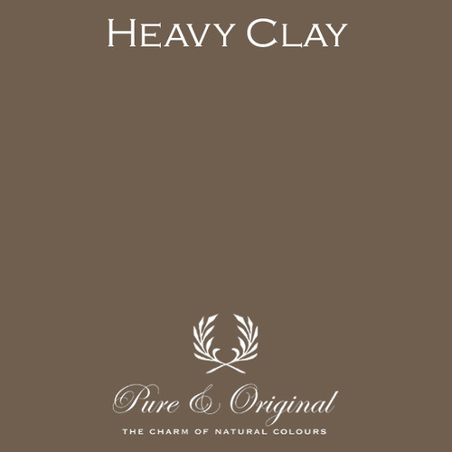 Pure & Original Classico Chalk Based Paint in Heavy Clay (Also available in Fresco Lime Paint or Marrakech Wall Paint)