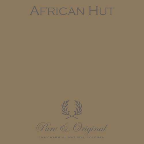 Pure & Original Classico Chalk Based Paint in African Hut (Also available in Fresco Lime Paint or Marrakech Wall Paint)