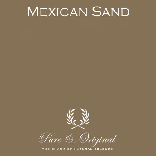 Pure & Original Classico Chalk Based Paint in Mexican Sand (Also available in Fresco Lime Paint or Marrakech Wall Paint)