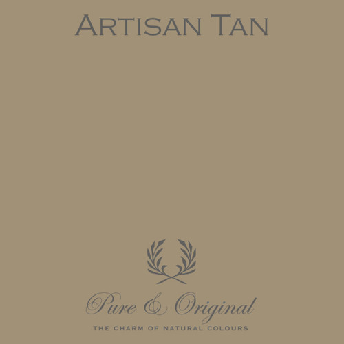 Pure & Original Classico Chalk Based Paint in Artisan Tan (Also available in Fresco Lime Paint or Marrakech Wall Paint)