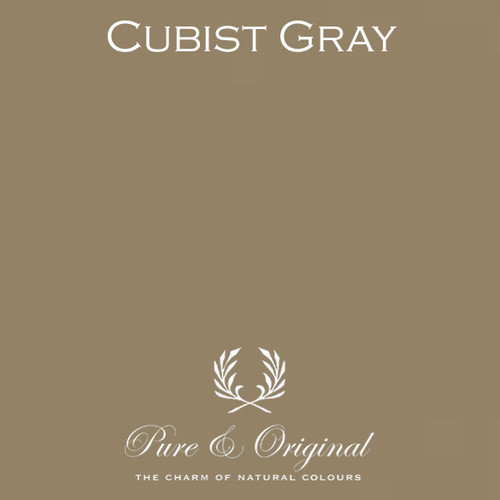 Pure & Original Classico Chalk Based Paint in Cubist Gray (Also available in Fresco Lime Paint or Marrakech Wall Paint)