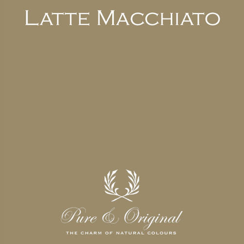 Pure & Original Classico Chalk Based Paint in Latte Macchiato (Also available in Fresco Lime Paint or Marrakech Wall Paint)