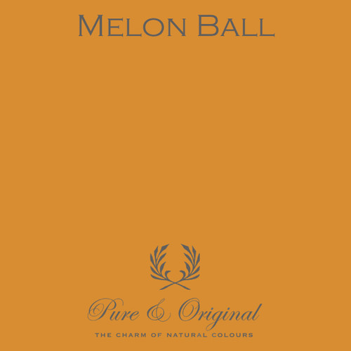 Pure & Original Classico Chalk Based Paint in Melon Ball (Also available in Fresco Lime Paint or Marrakech Wall Paint)