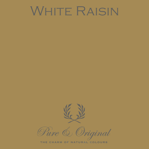 Pure & Original Classico Chalk Based Paint in White Raisin (Also available in Fresco Lime Paint or Marrakech Wall Paint)