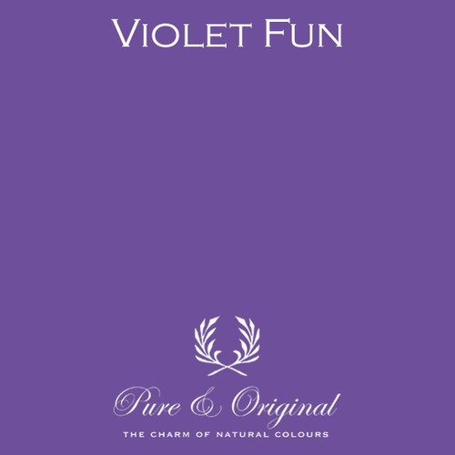 Pure & Original Classico Chalk Based Paint in Violet Fun (Also available in Fresco Lime Paint or Marrakech Wall Paint)