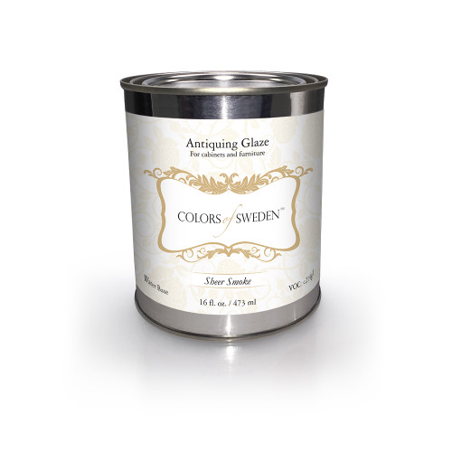 Colors of Sweden - Sheer Smoke Glaze - Can