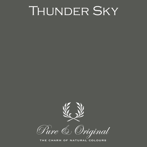 Pure & Original Fresco Lime Paint in Thunder Sky (Also Available in Classico Chalk Based Paint and Marrakech Wall Paint)