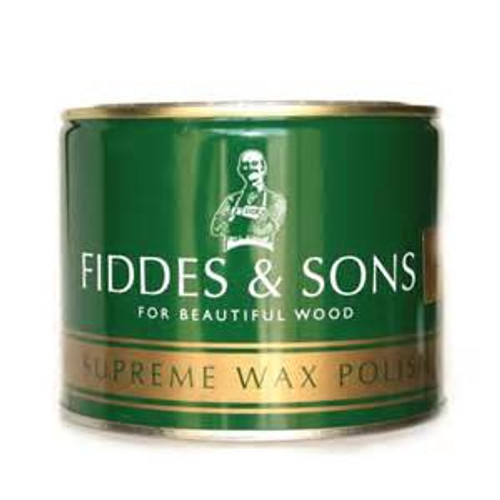 Fiddes & Sons Supreme Wax Polish in Rugger Brown