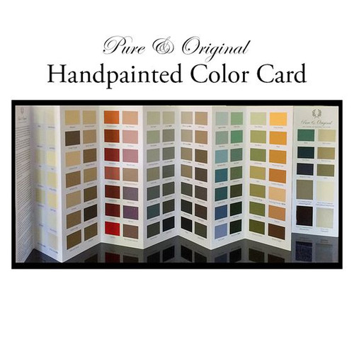 Pure & Original Color Card