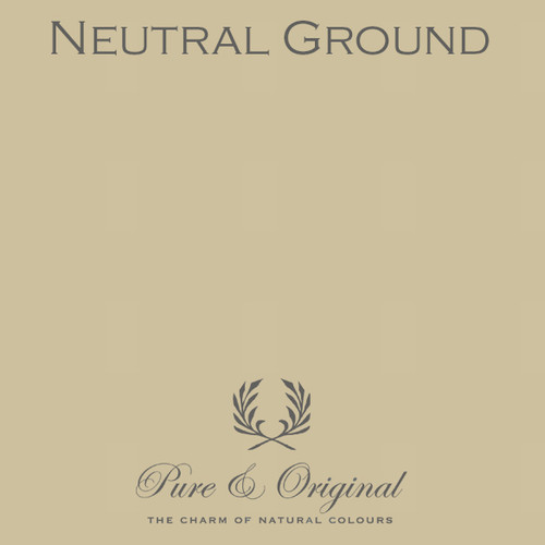 Pure & Original Classico Chalk Based Paint in Neutral Ground (Also available in Fresco Lime Paint or Marrakech Wall Paint)