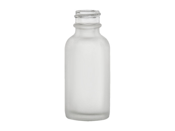 Frosted 1-ounce Bottle Spray Cap included