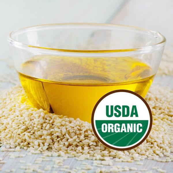 Sesame Seed Oil Virgin Organic