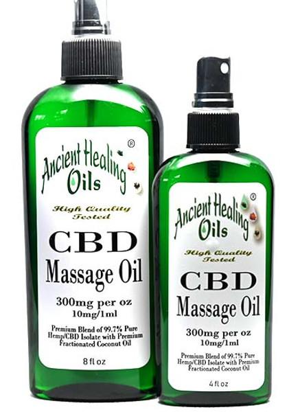 CBD Massage Oil 300mg CBD per ounce