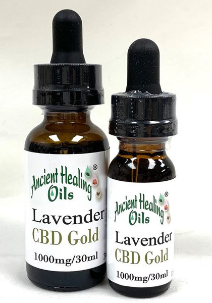 French Lavender EO CBD Blend 15ml and 30ml