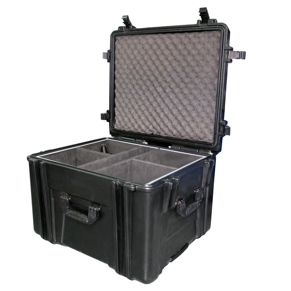 Astera AX7 SpotLite and AX10 SpotMax LED Event Light Charging Case- 4 pack ~ www.Astera-LEDs.com ~ 407-956-5337 (LEDS)