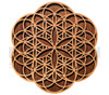 Seed-Flower Two Layer Wall Art  (Cherry & Walnut) - 4 Sizes available