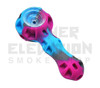 "4.5"" Silicone Handpipe w/ Dish & Dabber (assorted colors)"