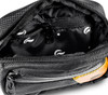 6.5″ x 2.25″ x 5″ Hipster Lockable Odor Protection Fanny Pack by Skunk - Black