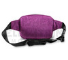6.5″ x 2.25″ x 5″ Hipster Lockable Odor Protection Fanny Pack by Skunk - Lavender