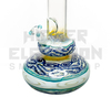 "HVY 13"" 50x5Mil Flame Top & Color Cane Fuming Single Bubble (assorted colors)"